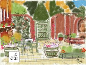 Moreton Tea Garden ©2016 Pam Grant